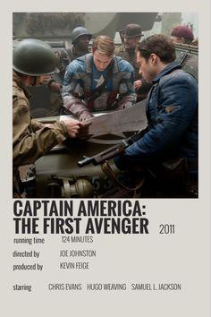 captain america the first avenger polaroid poster