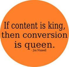 #Marketing #Quote: If #Content is King, then Conversation is Queen.