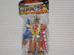 Power Ranger Dino Thunder Abaranger Collectible Vinyl Figure Megazord ABARENOH