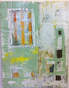 encaustic and mixed media #artiste #contemporain Fresh artist on abstract & contemporary art // Featured by curator of gallery TACT