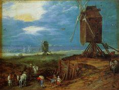"Jan Brueghel the Elder - ""Windmühlen"""