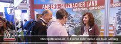 (AM) Interessiertes Publikum ließ sich auf der Stuttgarter Tourismusmesse über Amberg informieren - http://metropoljournal.de/?p=8216