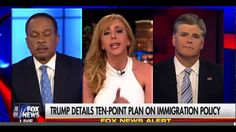 Hannity, Delgado, Boothe take on Juan Williams Who Trashed Trump's Immig...