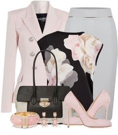 100 Style Ideas On How To Wear A Blazer & Skirt For Work Part 2