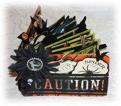 KC Croppers Halloween Mini Album