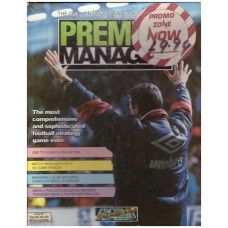 Premier Manager for Commodore Amiga from Gremlin