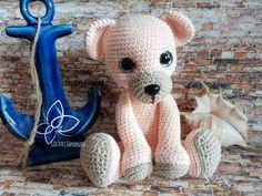 Sweet tedy bear Brzoskwiniowy misiaczek  Wzor od / pattern from  Chiqiupork Yarn:Yarn Art Jeans  #crochettoys #maskotki #zabwki #szydełko #szydełkowanie #rękodzieło #diy #handmade #yarn #häkeln #ganchillo #Вязаниекрючком #wool #himalayadolphinbaby #amigurumilove #myhobby #virka #szydełkiem #amigurumi #potd #miś #misiu #marinestyle #kotwica #teddy #misiaczek #instacrochet #ig #igcrochet