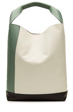MARNI Large Leather Bucket Bag. #marni #bags #shoulder bags #leather #bucket