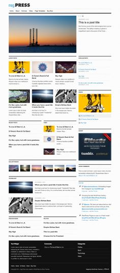 mag.Press is a comprehensive magazine theme framework. It's flexible home page and customization options mean you have full control over your magazine site.