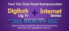 Digiturk Lig Tv İnternet HD 3D Üyelik