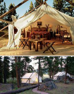 Let's Sleep Under The Stars: my fav place for camping- El Capitan Canyon Santa Barbara!!