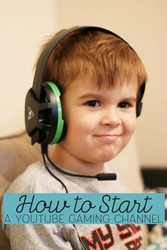 Learn how to create a YouTube video game channel for your child with these tips and suggestions for what you need. Use this technology to get started!