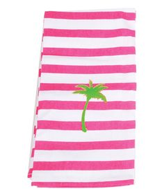 Another great find on #zulily! Palm Stripe Dish Towel #zulilyfinds