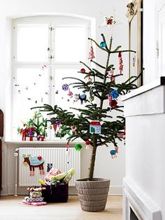La maison d'Anna G.: Un Noël (un peu) coloré