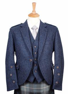 My Kiltmaker, Braemar Tweed Jacket and Vest for Kilts