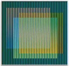 Carlos Cruz-Diez (Venezuelan, 1923)  ArtExperienceNYC   www.artexperiencenyc.com
