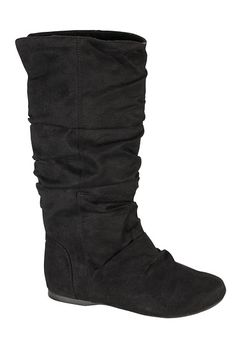 Remy Faux Suede Slouchy Boots - maurices.com