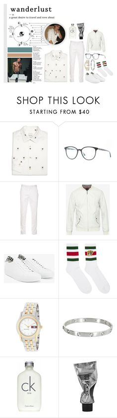 """""""gossip girl: next generation."""" by traplourde ❤ liked on Polyvore featuring Paul Smith, Alexander McQueen, Ted Baker, Givenchy, Gucci, Cartier, Calvin Klein and Mason's"""