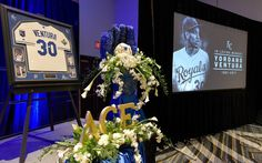 The Kansas City Royals gathered before Friday's opening of FanFest to celebrate the life of Yordano Ventura.