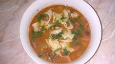 Fotorecept: Fazuľová polievka od Malaciek so slížami
