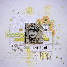 Child Of Spring - Scrap365