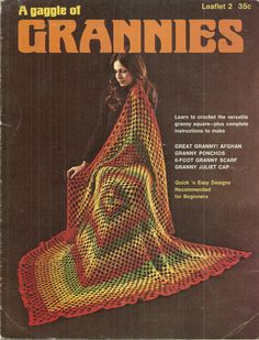 Granny Square Patterns to Crochet Leisure Arts 2 by debspatterns55, $3.00