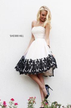 Коктейльное вечернее платье SHERRI HILL