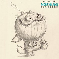 Midnight stroll. #morningscribbles | 출처: CHRIS RYNIAK
