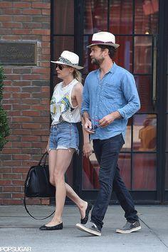 Diane Kruger and Joshua Jackson - Too Cute!