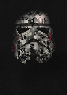 Pixel Star Wars Helmets    Created by Ron Gray  #SW