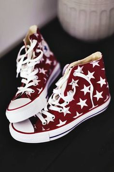 Omy..Star Spangled Chucks. Go Merica'...just added these to my collection.