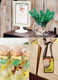 planning a monkey themed party monkey theme party ideas Go Bananas