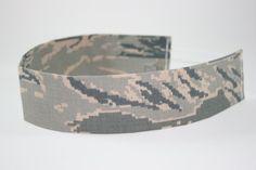US Air Force ABU Adult headband by samcreations on Etsy