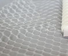 IVORY 1 yard Vintage Honeycomb netting  9inch by BirdcageSupply, $5.99
