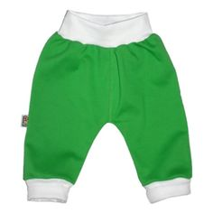 Pantalon vert en 100% coton pour bébé http://simedio.fr