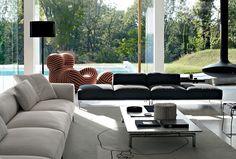 Sofá: FRANK - Colección: B&B Italia - Diseño: Antonio Citterio