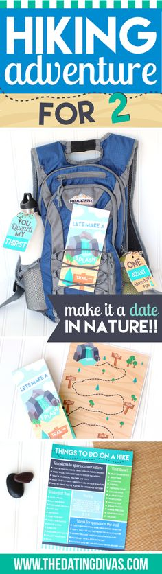This would be such a fun date in great outdoors! Love these printables designed by www.messestomemories.com for www.TheDatingDivas.com