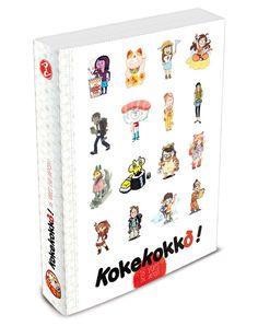 Réédition Septembre 2015 !! Kokekokko ! 16 vues du Japon | Editions Issekinicho