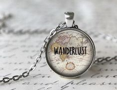 i am in love with this necklace #Wanderlust