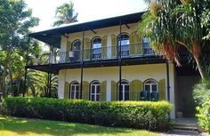 Hemingway's House, Key West, FL: This place is crazy over run with cats. Totally thrilling to kids who may not even know about Hemingway himself.