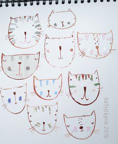 cats by sally payne