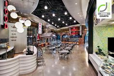 Food Court MGM at Foxwoods Casino by Chris Gonya, Mashantucket Connecticut Casino Royale, Food Court Design, Las Vegas, Food Trucks Near Me, Fast Healthy Meals, Healthy Food Delivery, Video Games For Kids, Casino Theme Parties, Casino Night