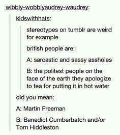 British stereotypes