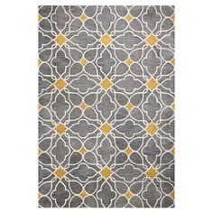 Found it at Joss & Main - Stella Grey Geometric Wool Hand-Tufted Area Rug