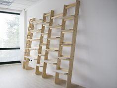 T Ookcase   Ladder Style Modular Shelf System   Obrary