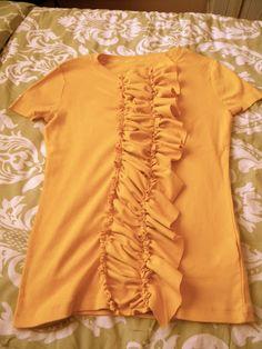Pink Lemonade {The Blog}: J Crew Inspired Ruffle Shirt Tutorial!!!