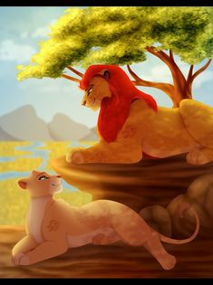 Explore the Lion Guard collection - the favourite images chosen by Through-the-movies on DeviantArt. Lion King Story, Lion King Fan Art, Lion King Movie, Disney Lion King, Kiara Lion King, The Lion King 1994, Simba And Nala, Images Roi Lion, Lion Kingdom