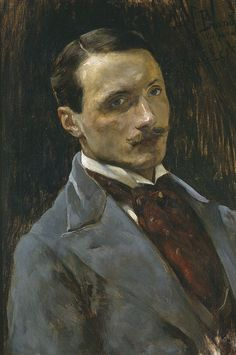 Portrait of Zenon Łęski, c.1895 by Józef Brandt (Polish, 1841-1915)... The sitter for this rather stylish portrait appears to have been a Polish painter born in 1841, and exiled for some time to Siberia in 1863......