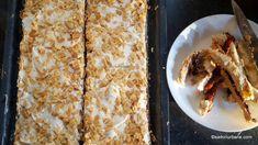 Prăjitura Pani Walewska cu bezea, cremă de vanilie și gem de fructe de pădure | Savori Urbane Dessert Recipes, Desserts, Bread, Vegetables, Food, Creative Art, Tailgate Desserts, Deserts, Brot