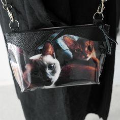 Ystävänpäivälahja – Miau! #cats #leather #uniquegifts Bags, Fashion, Handbags, Moda, Fashion Styles, Fashion Illustrations, Bag, Totes, Hand Bags
